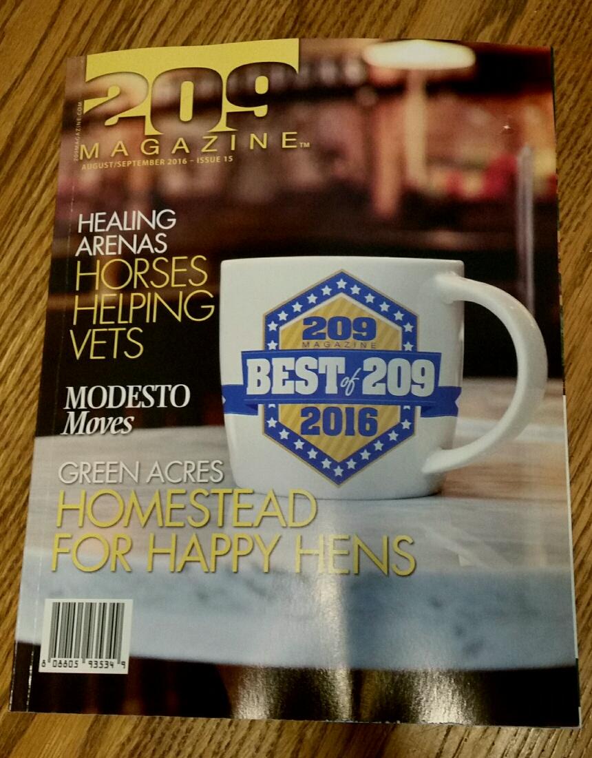 Media Coverage – 209 Magazine!